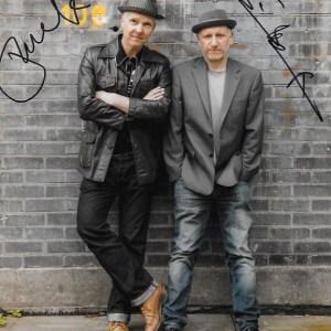 Trevor & Simon Dual Signed 10x8