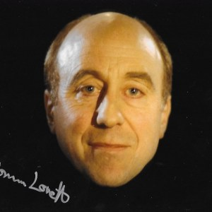 Norman Lovett Signed Holly 10x8
