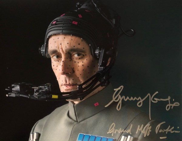 Guy Henry Signed Rogue One Grand Off Tarkin 11x14