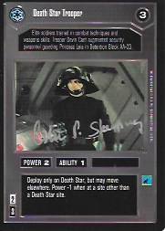Colin Skeaping SIgned CCG Card