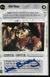 Jane Busy Chief Chirpa Signed Foil CCG Card