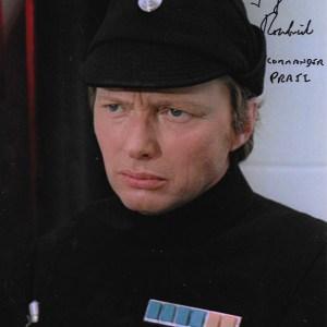 George Roubicek Signed Commander Praji 10x8