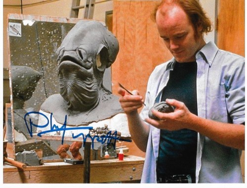 Phil Tippet Signed 10x8 With White Border
