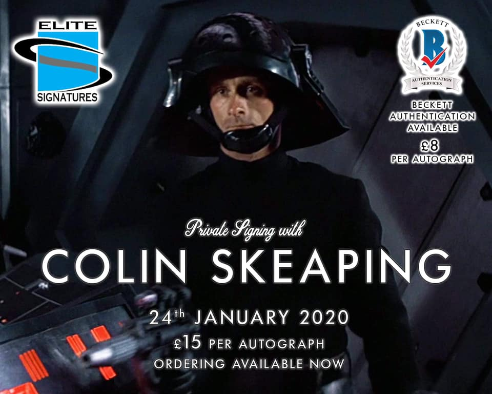 Colin Skeaping Signing Now Live