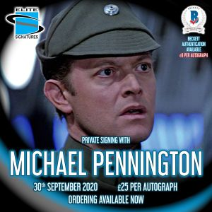 Michael Pennington Private Signing