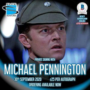 Michael Pennington Private Signing
