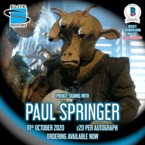 Paul Springer Private Signing