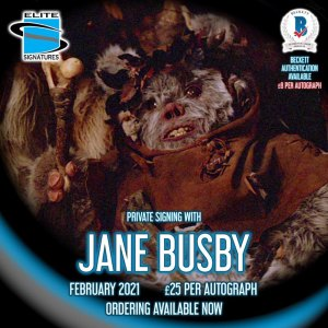 Jane Busby Private Signing