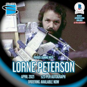 Lorne Peterson Private Signing