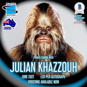 Julian Khazzouh Private Signing