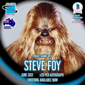 Steve Foy Private Signing