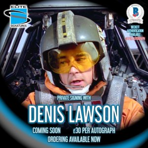 Denis Lawson Private Signing