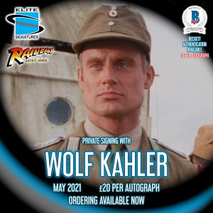 Wolf Kahler Private Signing