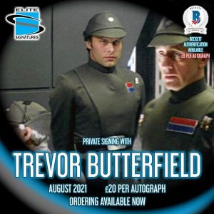 Trevor Butterfield Private Signing