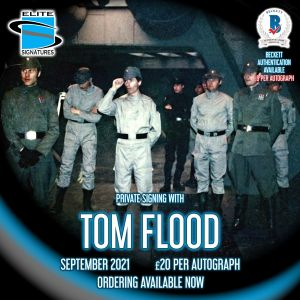 Tom Flood Private Signing