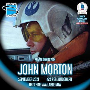 John Morton Private Signing