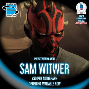 Sam Witwer Private Signing
