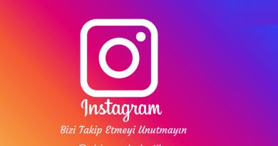 Instagram Sayfamız Açılmıştır Lütfen Takip etmeyi Unutmayın