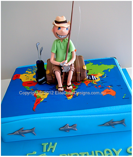 Holiday Travel Theme Novelty Birthday Cake Cakes Sydney