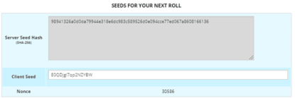 Seeds FOR next ROLL
