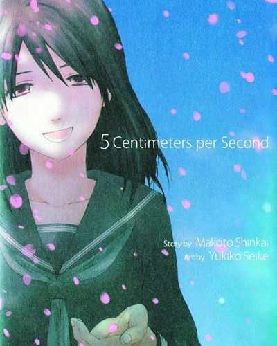 5 Centimeters Per Second Manga Review