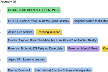 Katsucon 2013 schedule