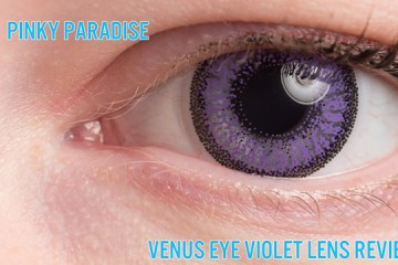 Venus Eye Violet Lens Review