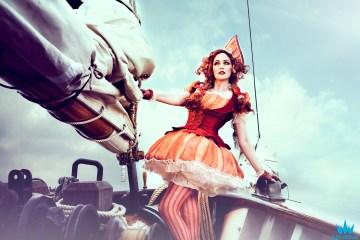 Sailboat Cosplay Photoshoot