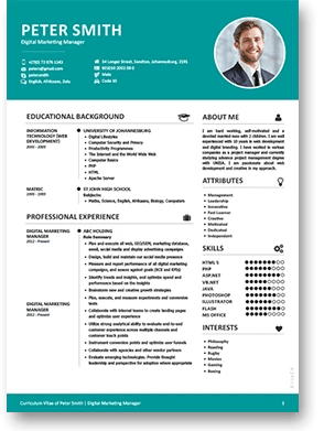 what is cv resume