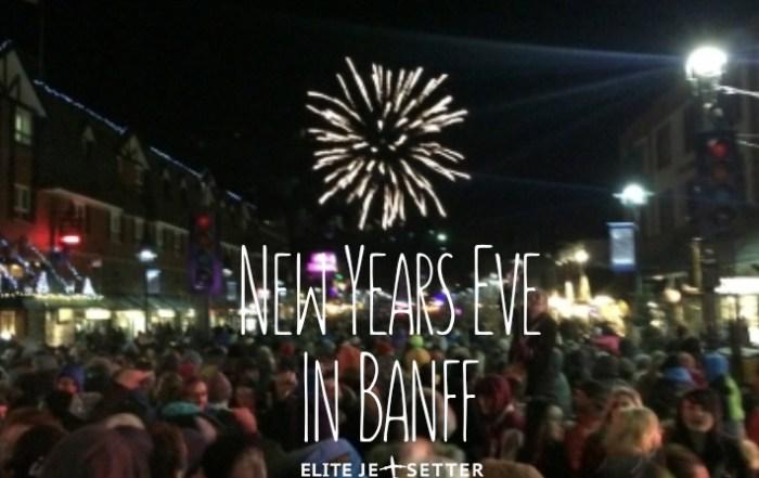 New years Eve Banff