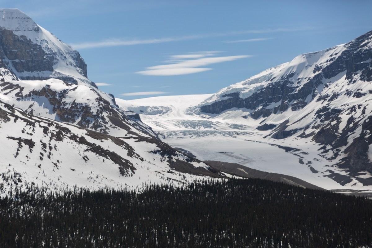 Athabasca Glacier Wilcox pass