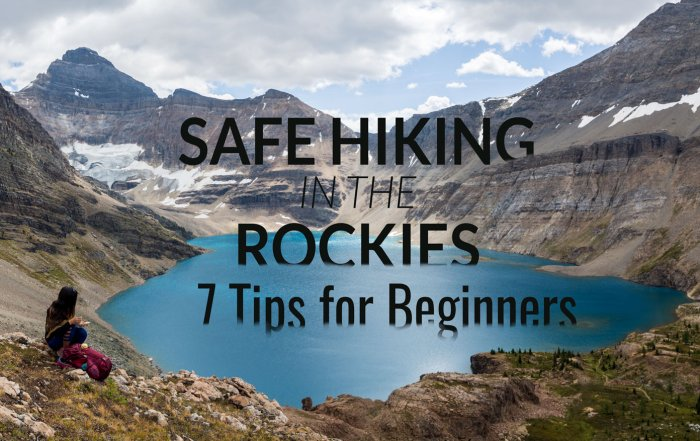 SAFE HIKING IN THE ROCKIES