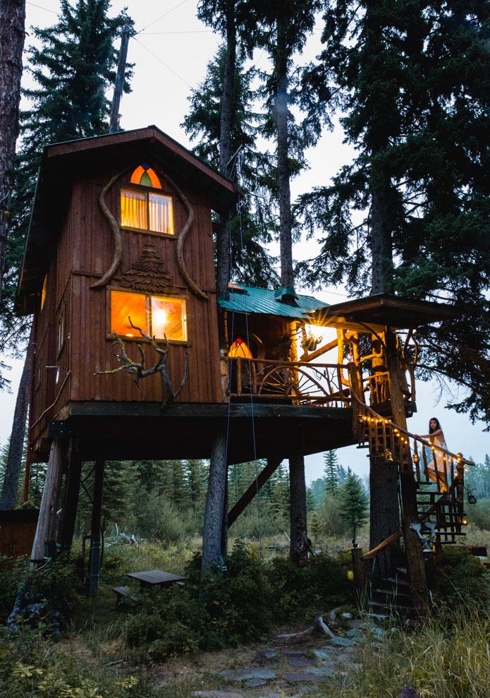 Treehouse hotel British columbia