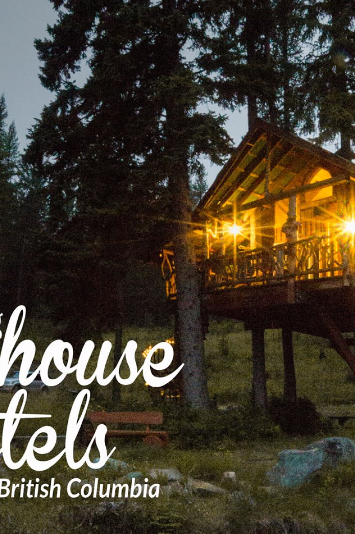 Exploring Treehouse Hotels in British Columbia