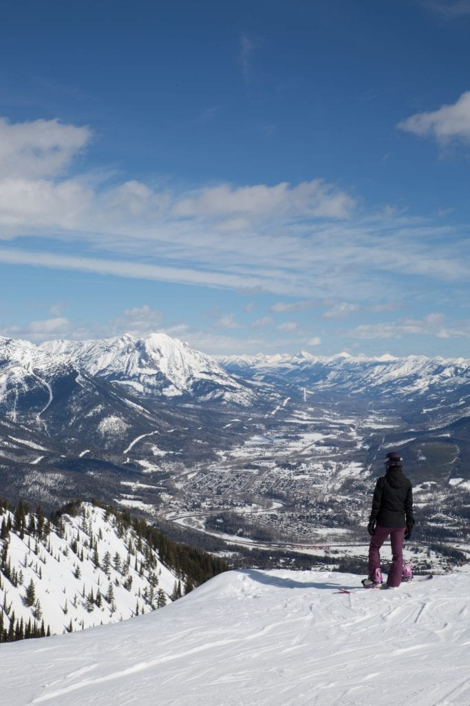 skiing in Fernie