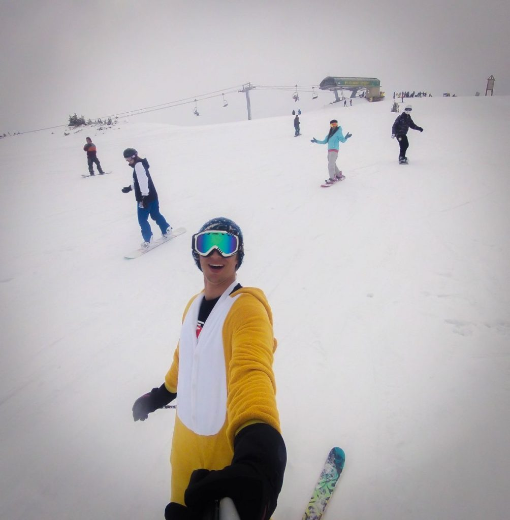 Ski sunshine village