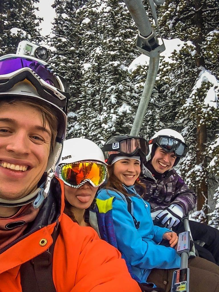 skiing Lake Louise