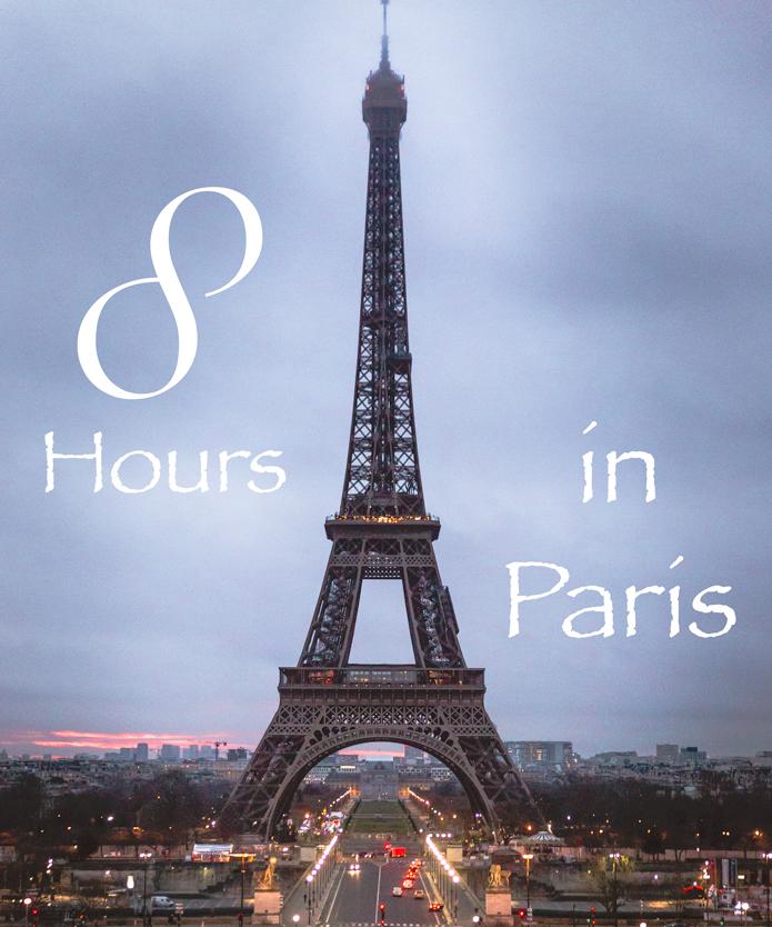 eight hours in Paris