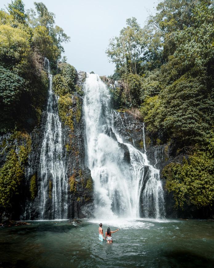 Banyumala waterfall North Bali