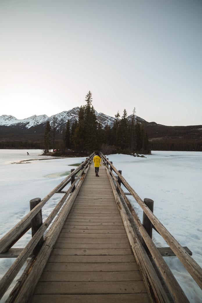 Pyramid Lake Island Jasper