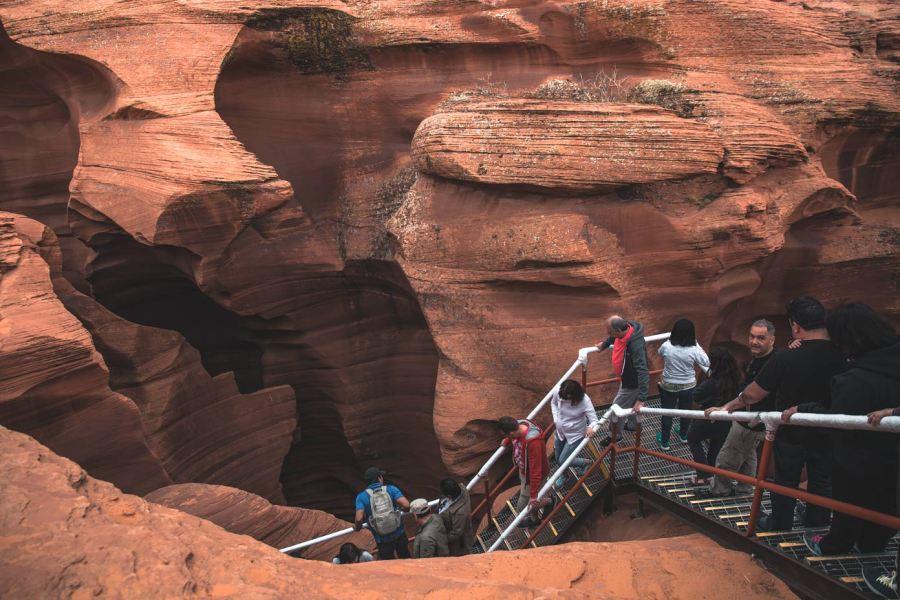 Lower Antelope Canyon Entrance