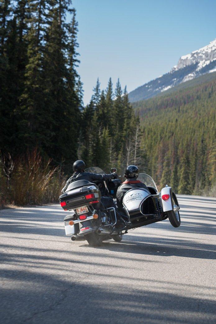 Motorbike tour jasper