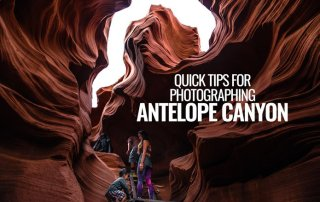 Quick tips for photographing Antelope Canyon