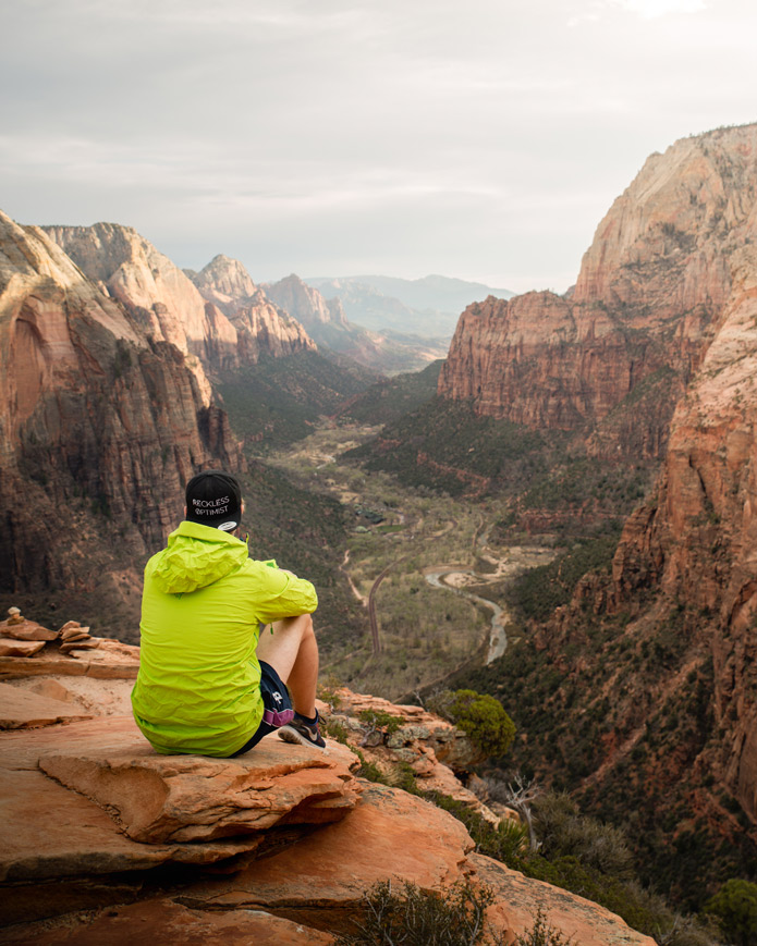 Zion Angel's Landing Summit