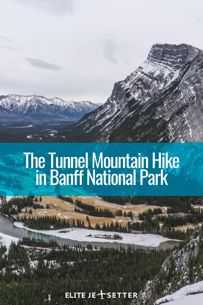 the tunnel mountain hike in banff national park elite. Black Bedroom Furniture Sets. Home Design Ideas