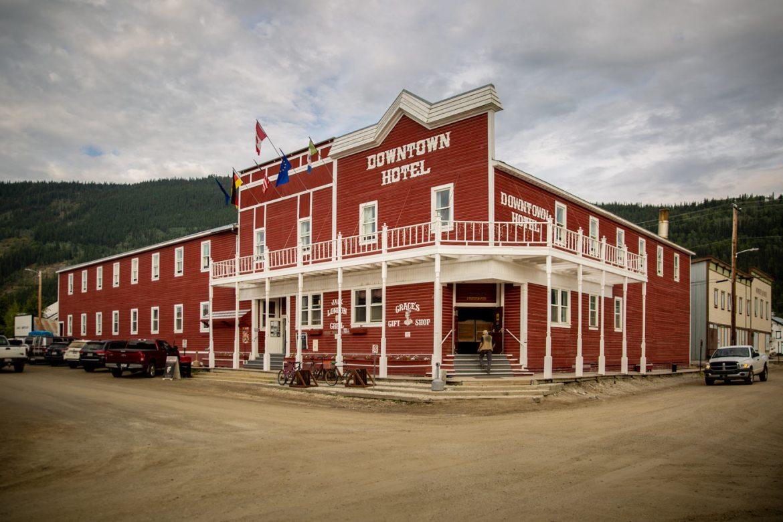 Downtown Hotel Dawson City Yukon