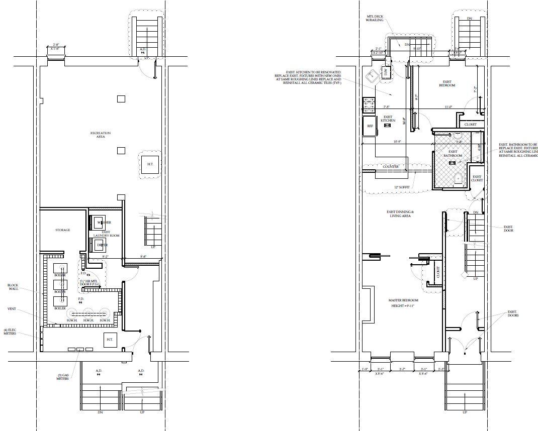 3 Bed 2 Bath Duplex