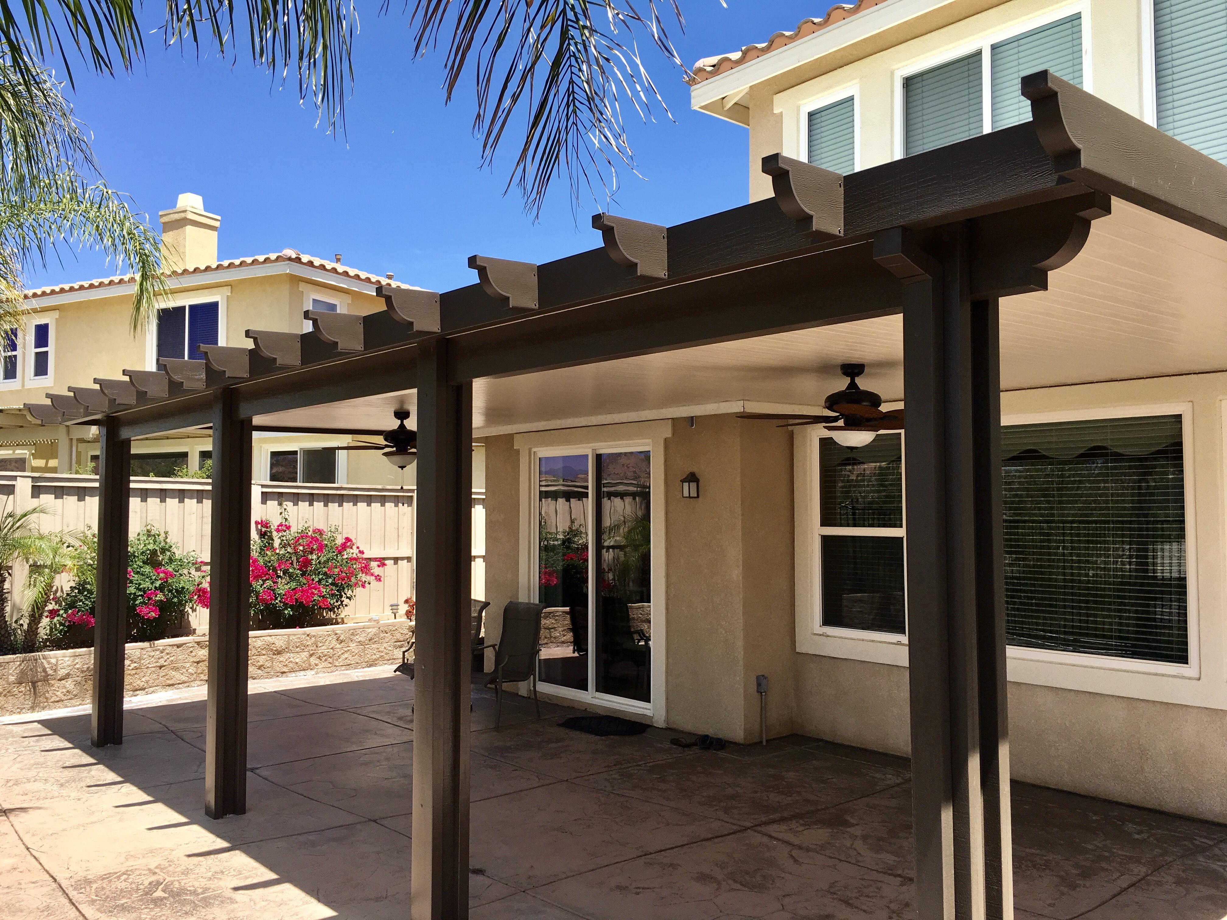 menifee patio covers aluminum patio