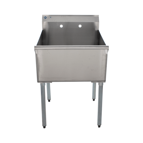 universal bs c1t2424 24 one compartment commercial sink