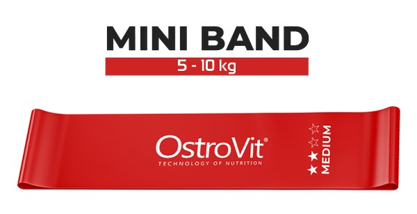 ostrovit-training-band-rouge